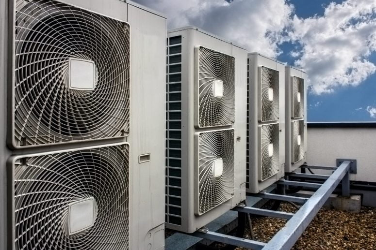 a/c units should be properly positioned