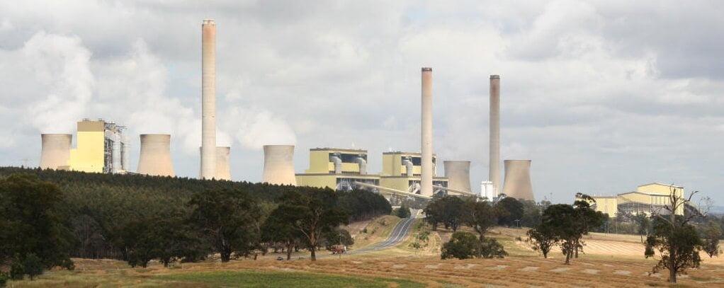 Loy Yang A coal plant